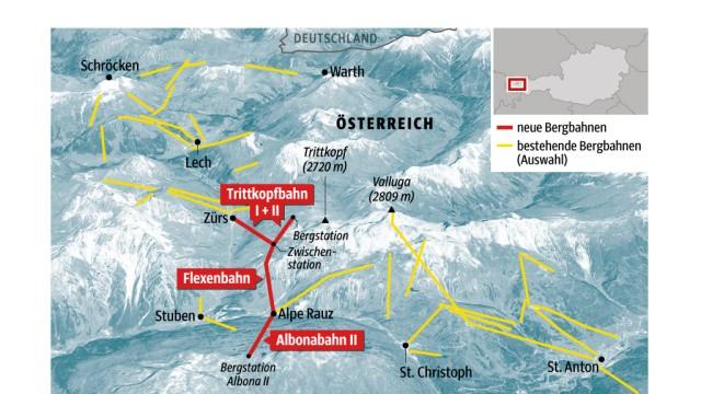 Alpen Wintersport in den Alpen