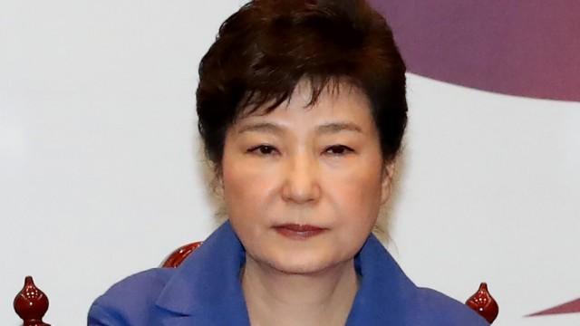 Proteste in Südkorea Regierungskrise in Südkorea