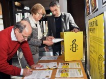 Amnesty-Briefkasten