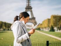Tourismus schämen