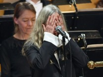 Patti Smith in Stockholm.