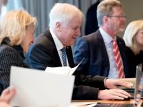Sitzung Kabinett in Bayern
