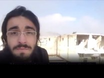 Aleppo Twitter Augenzeugen Video Screenshot