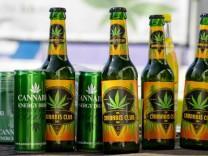 Cannabis Energydrink, Bier mit Hanfextrakten