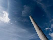 Medientag am Aufzugtestturm von Thyssen-Krupp