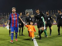 Football: Barcelona v Al Ahli friendly