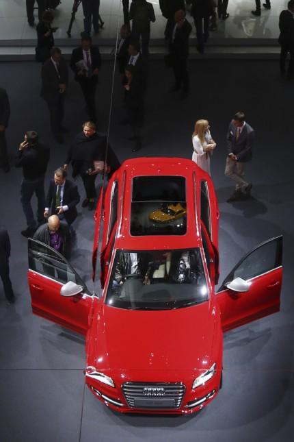 File photo of SQ5 SUV of German car manufacturer Audi