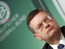 German Football Association designated president Grindel presents independent report on 2006 World Cup in Frankfurt