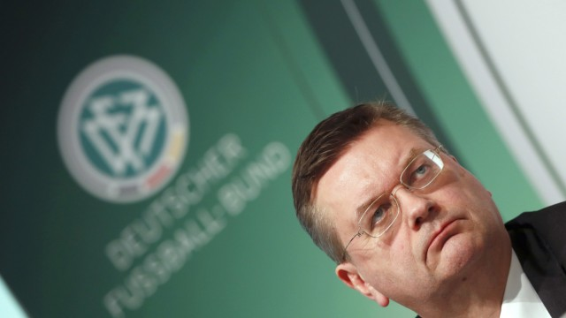 German Football Association designated president Grindel presents independent report on 2006 World Cup in Frankfurt