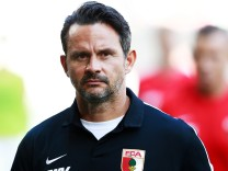 FILE - FC Augsburg Fires Head Coach Dirk Schuster