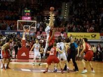 TipOff im Audi Dome FC Bayern Muenchen Basketball vs Buducnost Voli Podgorica EuroCup 14 12 16
