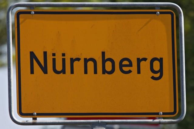 Ortseingangsschild Nürnberg