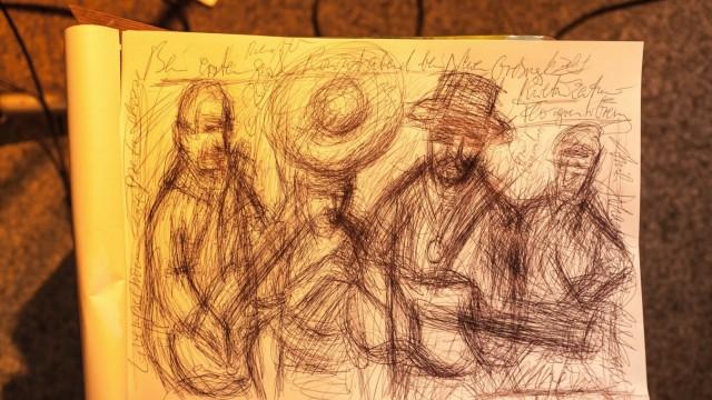 Flostern 2 Zeichnung