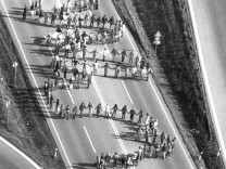 Menschenkette gegen Raketen
