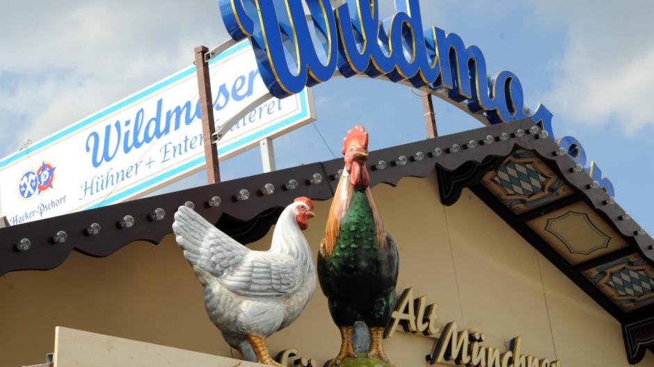 Hühner- und Entenbraterei Wildmoser auf dem Münchner Oktoberfest, 2011