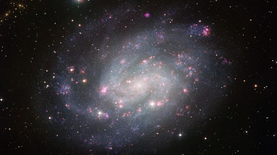 Neue Aufnahme der Spiralgalaxie NGC 300