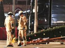 MËÜglicher Anschlag mit Lastwagen auf Berliner Weihnachtsmarkt