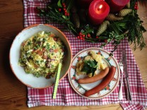 """Foodblog """"bestes rezept"""" zu würstchen mit kartoffelsalat"""