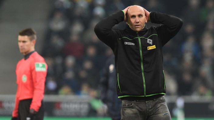 Fußball 1 Bundesliga 16 Spieltag Borussia Mönchengladbach VfL Wolfsburg am 20 12 2016 im Borussi