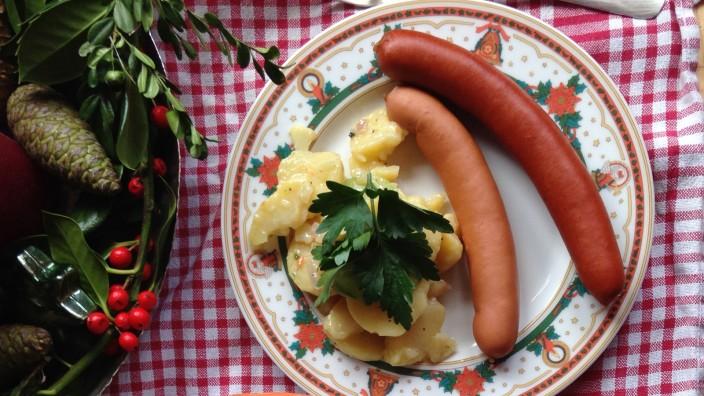 "Kartoffelsalat - Foodblog ""Lecker auf Rezept"""