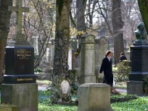 Alter  Südfriedhof in München, 2008