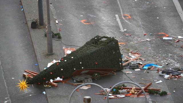 Anschlag auf Berliner Weihnachtsmarkt Presseschau zum Anschlag in Berlin