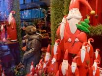 Internet-Käufe verderben dem Einzelhandel das Weihnachtsgeschäft
