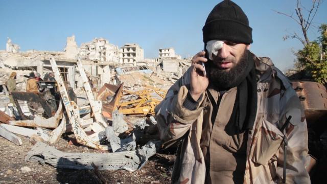 Mann in Aleppo