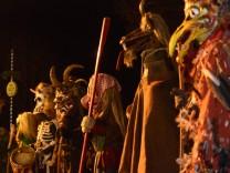 Wilde Jagd vom Untersberg Wild Hunt character Tod Death Vorgeher Vorpercht Hexe witch Habe