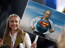 Annual press conference of Russian President Vladimir Putin