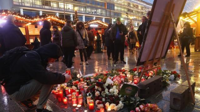 *** BESTPIX *** Christmas Market Targeted In Terror Attack Reopens