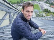 Sven Hannawald in Garmisch-Partenkirchen, 2013