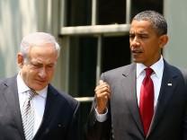 Barack Obama, Benjamin Netanjahu