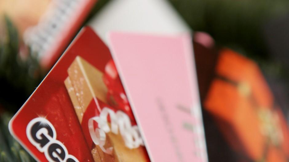 Gutscheine sind beliebtestes Weihnachtsgeschenk