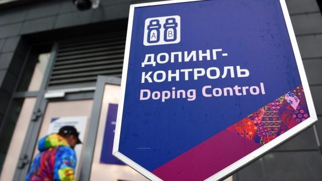 Sotschi 2014 - Dopingkontrolle