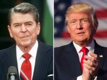 Trump, Reagan