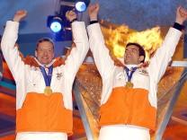 OLYMPIA 2002 SIEGEREHRUNG ZWEIERBOB