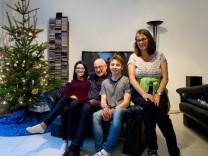 Tunesische Studentin über Weihnachten bei deutscher Familie.