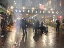 Terrorwarnung an Silvester am Münchner Hauptbahnhof, 2015