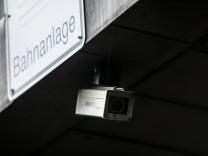 Videoüberwachung am Hauptbahnhof in München, 2016