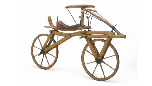 Laufmaschine von Karl Freiherr von Drais