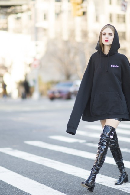 Street Style - Day 8 - New York Fashion Week: Women's Fall/Winter 2016