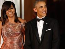 Michelle und Barack Obama beim State Dinner 2016