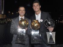Jorge Mendes und Cristiano Ronaldo
