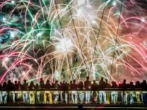 Feuerwerk in Frankfurt