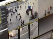Videoüberwachung vor Silvesternacht