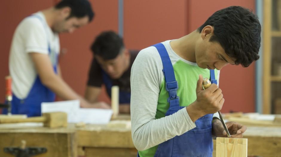 Ausbildung für junge Flüchtlinge