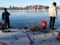 Silvester am Weßlinger See