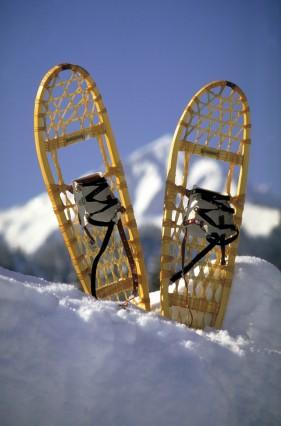 Schneeschuhe Tour Kleinwalsertal