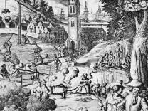 Dreißigjähriger Krieg 1618 - 1648 : Schwedische Soldaten bei Greueltaten
